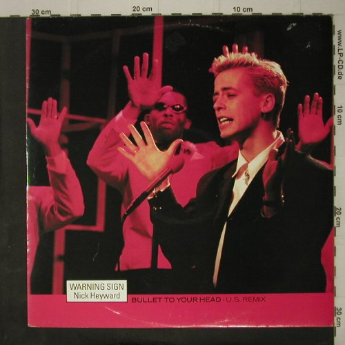 Heyward,Nick: Warning Sign*2, Arista(HEY 226), , 1984 - 12inch - C7527 - 2,50 Euro