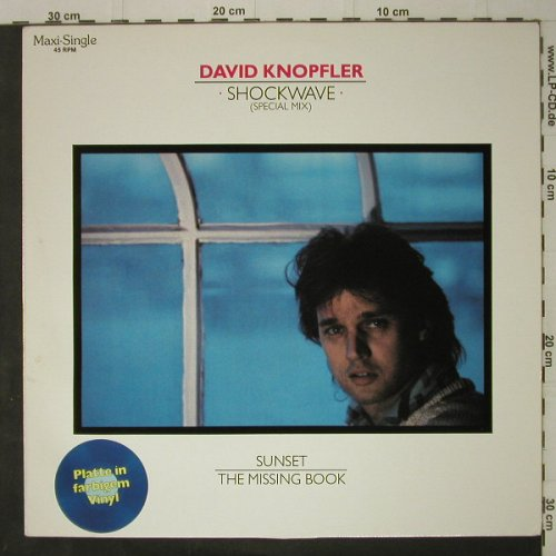 Knopfler,David: Shockwave,sp.mix+2,Blue Vinyl, Intercord(INT 125.261), D, 1985 - 12inch - C7549 - 3,00 Euro