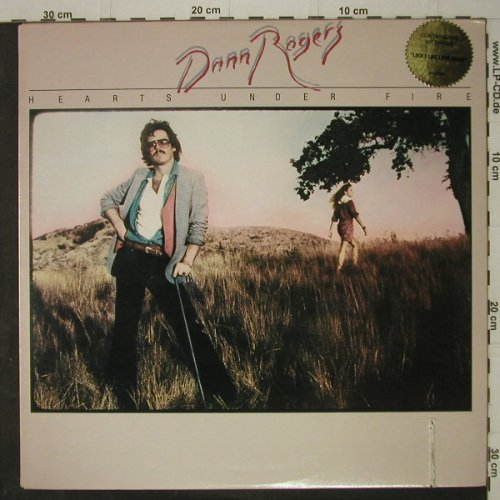 Rogers,Dann: Hearts Under Fire,Co, IA(5000), US, 1978 - LP - C7614 - 4,00 Euro
