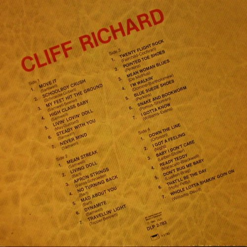 Richard,Cliff: Same, Foc, m-/vg+, All Round(DLP 2-783), DK, 1985 - 2LP - C7616 - 6,00 Euro