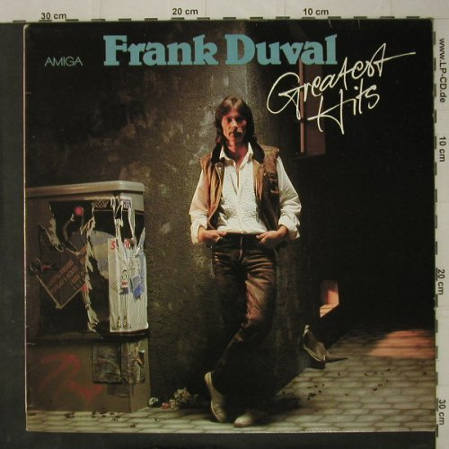 Duval,Frank: Greatest Hits, Amiga(8 56 343), DDR, 1988 - LP - C7839 - 5,00 Euro