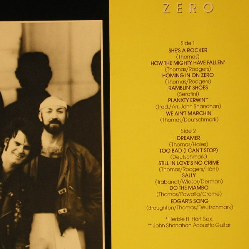 Johnny And The Drivers: Homing In On Zero, Mercury(822 727-1), D, 1984 - LP - C7899 - 5,00 Euro
