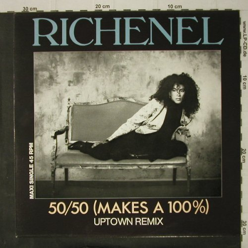 Richenel: 50/50(Makes A 100%)*2+1, Epic(650899 6), NL, 1987 - 12inch - C7949 - 3,00 Euro