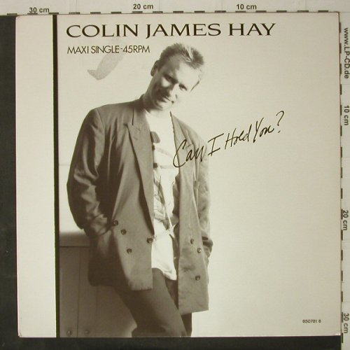Hay,Colin James: Can I Hold You?, CBS(650781 6), NL, 1987 - 12inch - C7964 - 2,50 Euro