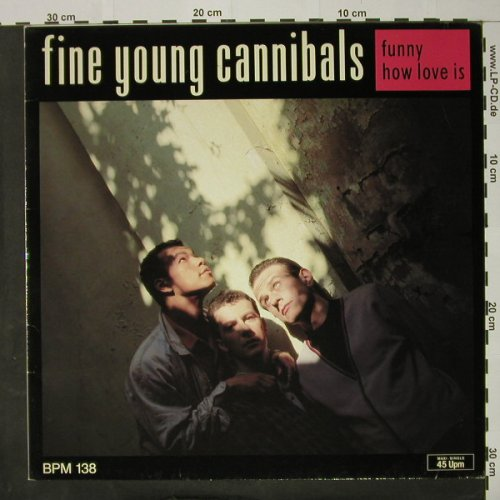 Fine Young Cannibals: Funny How Love Is +2, Metronome(886 048-1), D, 1986 - 12inch - C8123 - 3,00 Euro