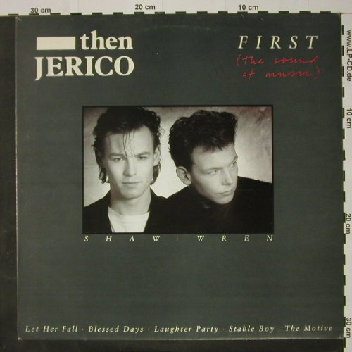 Then Jerico: First, Promo, London(LON LP 26), UK, 1987 - LP - C8151 - 6,00 Euro
