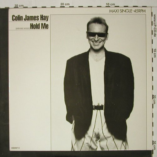 Hay,Colin Jay: Hold Me, CBS(650297 6), NL, 1987 - 12inch - C8167 - 1,50 Euro