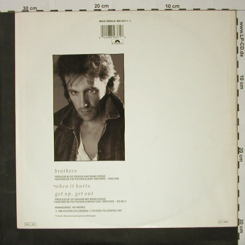 Spence,Brian: Brothers+2, Polydor(885 637-1), D, 1986 - 12inch - C8429 - 2,50 Euro