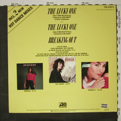 Branigan,Laura: The Lucky One *2+1, Atlantic(786 928-0), D, 1984 - 12inch - C8436 - 3,00 Euro