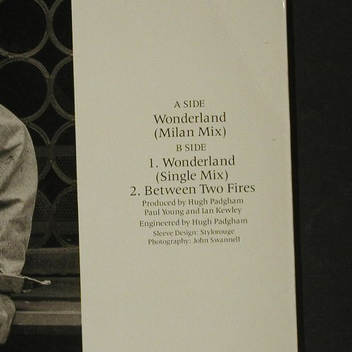 Young,Paul: Wonderland(Milan Mix) *2+1, CBS(650131 6), NL, 1986 - 12inch - C8468 - 2,50 Euro