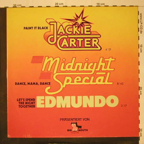 Carter,Jackie/Edmundo/MidnightSp.: Paint It Black+1 / Let's Spend..., Big Mouth(66.20201), D, 1978 - 12inch - C8476 - 1,00 Euro