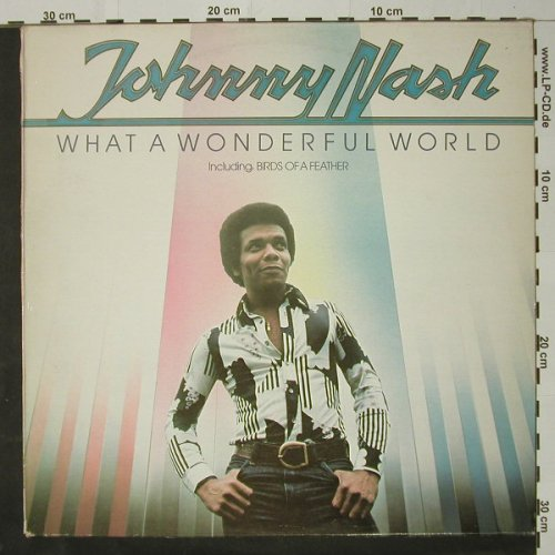 Nash,Johnny: What A Wonderful World, Epic(EPC 81783), NL, 1977 - LP - C8589 - 4,00 Euro