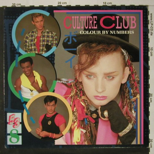 Culture Club: Colour By Numbers, Virgin(205 730-320), D, 1983 - LP - C8620 - 5,00 Euro