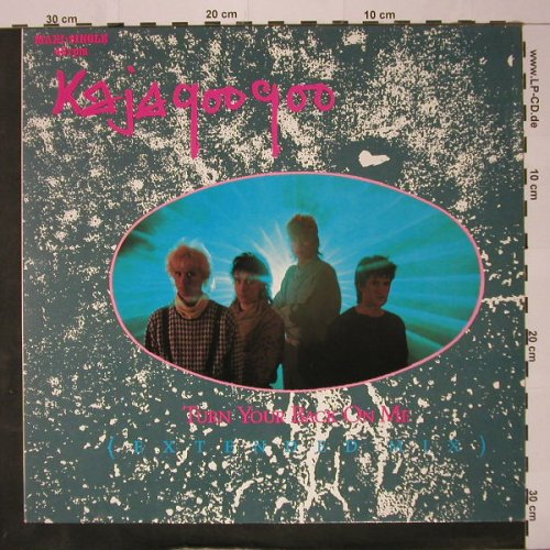 Kajagoogoo: Turn Your Back On Me(Ext.)*2+1, EMI(2001656), D, 1984 - 12inch - C8666 - 3,00 Euro