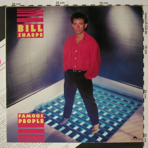 Sharpe,Bill: Famous People, Polydor(825 497-1), D, 1985 - LP - C8702 - 5,00 Euro