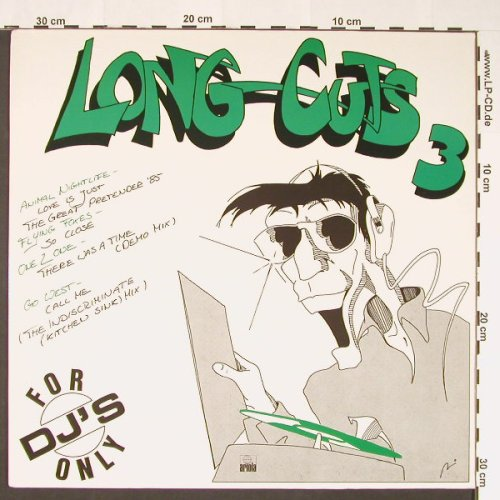 V.A.Long Cuts 3 - For DJ's Only: Animal Nightlife...Go West, Ariola(601 836-000), D, 1985 - 12inch - C8800 - 5,00 Euro