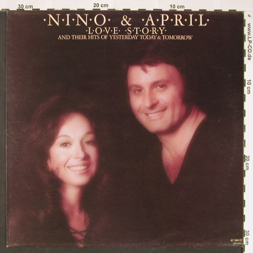 Nino & April: Love Story And Their Hits Of..., AM(87 980 T), NL,  - LP - C8811 - 6,00 Euro