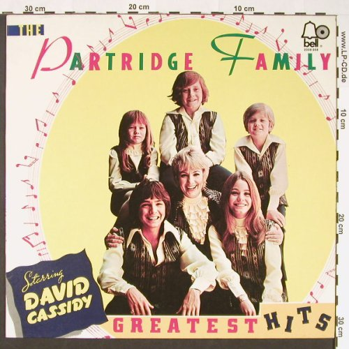 Partridge Family: Greatest Hits, woc, BELL(2308 068), D, 1973 - LP - C8841 - 6,00 Euro
