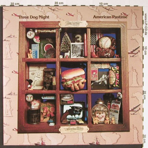 Three Dog Night: American Pastime, Foc, ABC(ABCD928), D, 1976 - LP - C8843 - 7,50 Euro