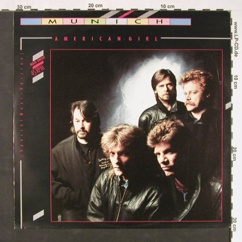 Munich: American Girl(sp.maxiVers)/Hot Skin, Intercord(INT 125.244), D, 1986 - 12inch - C9001 - 2,50 Euro