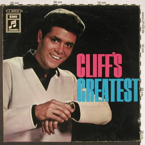 Richard,Cliff: Greatest, vg+/vg+,playable, Columb.(C 062-04121 M), D, Mono,  - LP - C9327 - 6,00 Euro