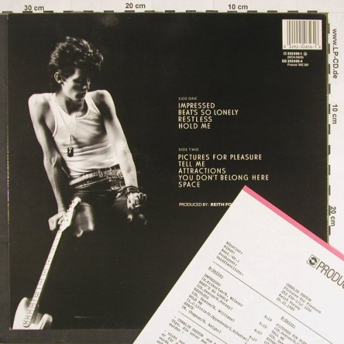 Sexton,Charlie: Pictures For Pleasure,+Facts, MCA(252 656), D, 1985 - LP - C9342 - 5,00 Euro
