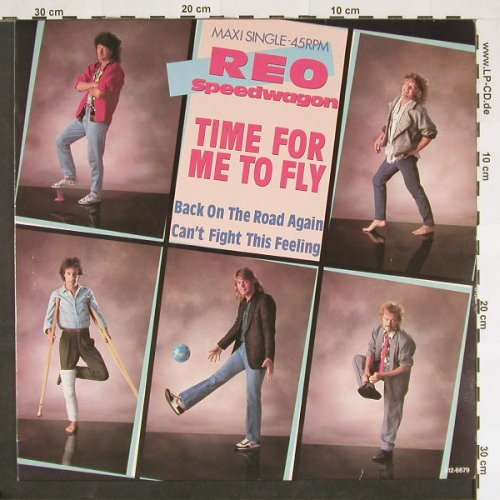 Reo Speedwagon: Time For Me To Fly+2, Epic(A 12.6679), NL, 1984 - 12inch - C9379 - 2,50 Euro