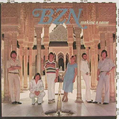 BZN: Making A Name, EMI(064-99 312), D, 1977 - LP - C9512 - 5,00 Euro