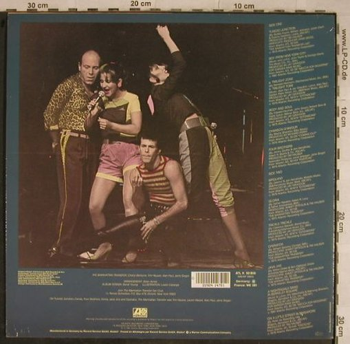 Manhattan Transfer: The Best Of the, Atlantic(ATL K 50 856), D, 1981 - LP - C9542 - 5,00 Euro