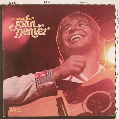 Denver,John: An Evening With,Foc, RCA(26.28110 DX), D, 1975 - 2LP - C9729 - 6,00 Euro