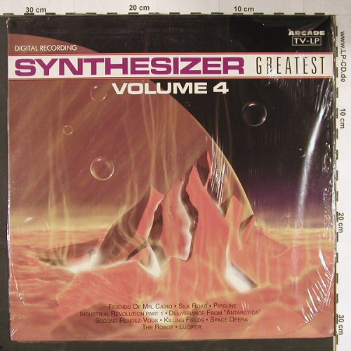 V.A.Synthesizer Greatest: Vol.4, FS-New, Arcade(01 4370 21), D, 1990 - LP - C9951 - 5,00 Euro