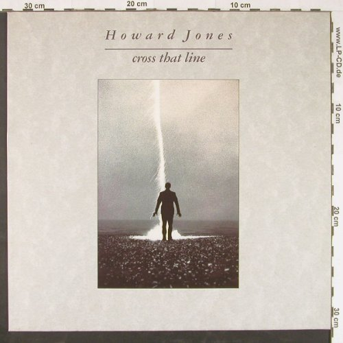 Jones,Howard: Cross That Line, WEA(244176-1), D, 1989 - LP - E1019 - 5,00 Euro
