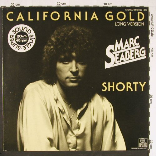 Seaberg,Marc: California Gold,long / Shorty, Ariola(600 020), D, 1979 - 12inch - E116 - 3,00 Euro