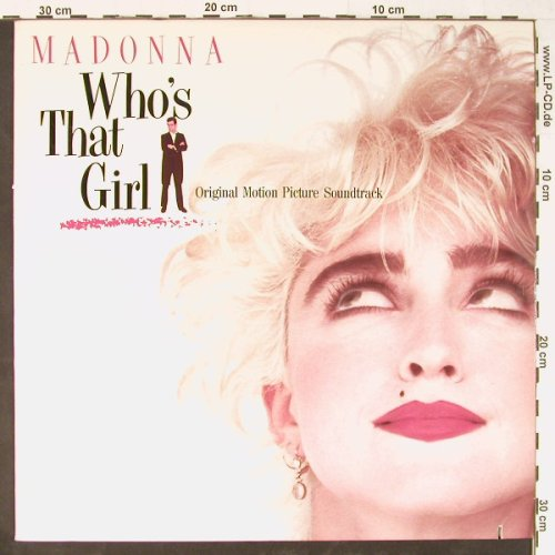 Madonna: Who's That Girl, co, Sire(9 25611-1), US, 1987 - LP - E1189 - 6,00 Euro