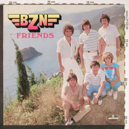 BZN: Friends, Mercury(6423 461), NL, 1981 - LP - E1427 - 5,00 Euro