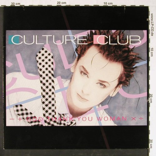 Culture Club: God Thank You Woman+1, co, Virgin(608 211-213), D, 1986 - 12inch - E1432 - 2,50 Euro