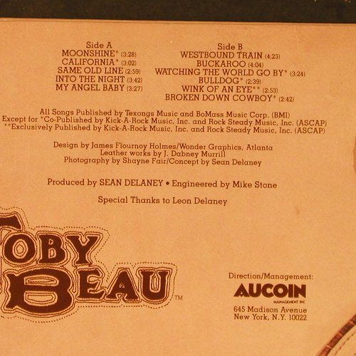 Toby Beau: Same, RCA(AFL1-2771), US, co, 1978 - LP - E1477 - 6,00 Euro