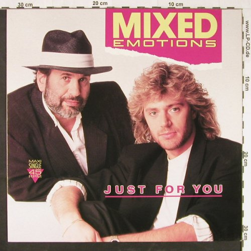 Mixed Emotions: Just For You/Chiquita Renita, EMI(1 47379 6), EEC, 1988 - 12inch - E1509 - 1,50 Euro