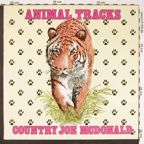 Country Joe Mc Donald: Animal Tracks, Ri, Line(6.26052 AP), D, 1980 - LP - E1511 - 5,00 Euro