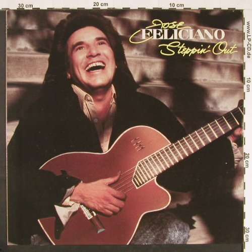 Feliciano,Jose: Steppin'Out, Bellaph.(260 07 149), , 1990 - LP - E15 - 5,00 Euro