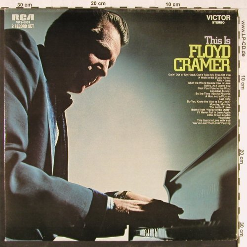 Cramer,Floyd: This Is.. , Foc, RCA(26.28031 DP), D, 1971 - 2LP - E1656 - 7,50 Euro