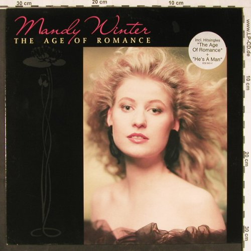 Winter,Mandy: The Age Of Romance, Mercury(836 901-1), D, 1989 - LP - E1863 - 5,00 Euro