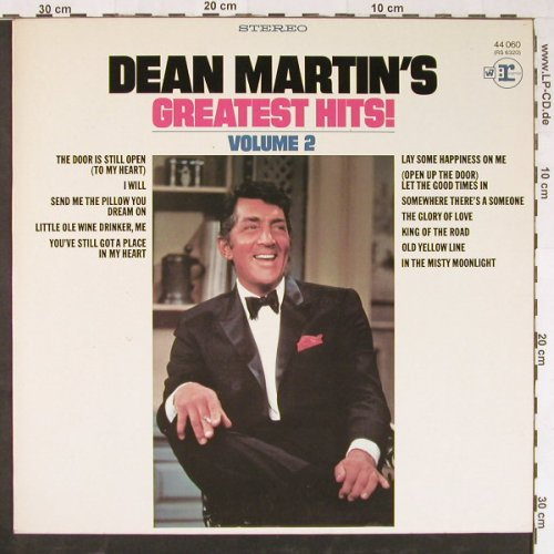 Martin,Dean: Greatest Hits Vol.2, Reprise(44 060), D,  - LP - E1882 - 5,00 Euro
