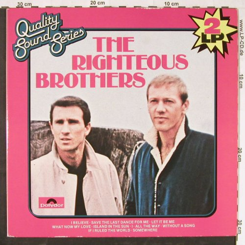 Righteous Brothers: Quality Sound Series, Foc, Polydor(2670 205), NL, 1978 - 2LP - E1938 - 7,50 Euro