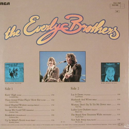 Everly Brothers: Same, FS-New, RCA(26.21408), D, 1975 - LP - E2078 - 7,50 Euro