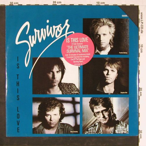 Survivor: Is This Love+2,co, ScottiBro.(650195 6), UK, 1986 - 12inch - E2213 - 1,50 Euro