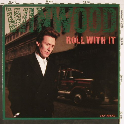 Winwood,Steve: Roll With It*2+1, Virgin(611 534-213), D, 1988 - 12inch - E2245 - 2,50 Euro