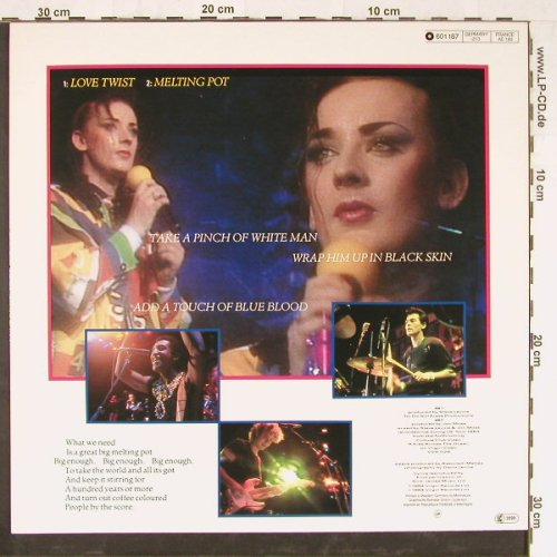Culture Club: It's A Miracle/Miss me Blind+2, Virgin(601 187), D, 1984 - 12inch - E2378 - 3,00 Euro