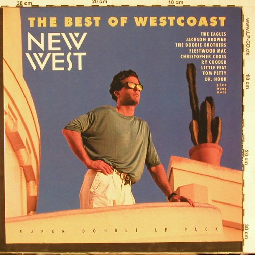 V.A.The Best Of Westcoast: 24 Tr.,Foc, Teldec(9548-30098-1), D, 1990 - 2LP - E2620 - 7,50 Euro
