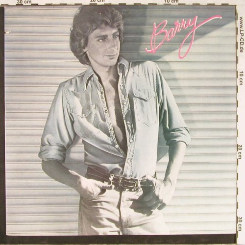 Manilow,Barry: Barry, Co, Arista(AL 9537), US, 1980 - LP - E2697 - 5,00 Euro